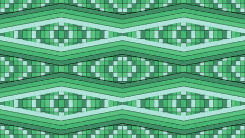 Kaleidoscopic Shapes Stripes and Squares Colorful Seamless Looping Background Animation