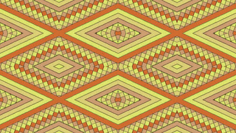 Kaleidoscopic Shapes Stripes And Rhombus Colorful Seamless Looping Backgrounds Set 1