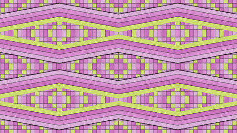 Kaleidoscopic Shapes Stripes And Squares Colorful Seamless Looping Backgrounds 2