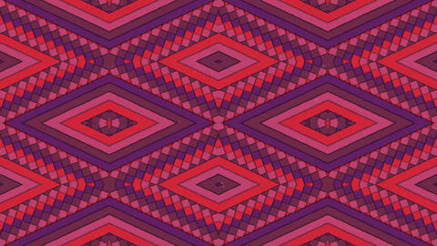 Kaleidoscopic Shapes Stripes and Rhombus Colorful… Stock Video Footage