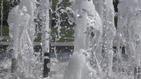 The water in the fountain Footage