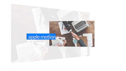 Business Logo Apple Motionテンプレート
