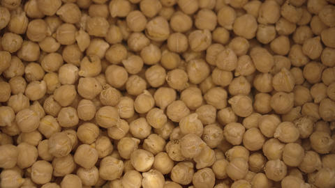 Soaking Chickpeas In Water, Before Cooking GIF