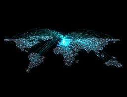 Attracting Network Europe CG動画素材