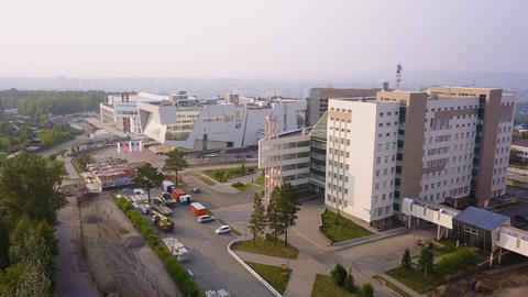 Russia, Krasnoyarsk. Siberian Federal University, MULTIFUNCTIONAL COMPLEX, From Live Action