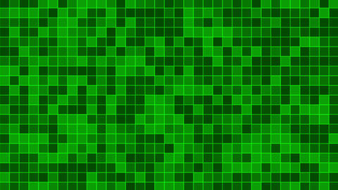 Mosaic green Animation