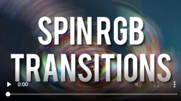 Spin RGB Transitions Premiere Proテンプレート