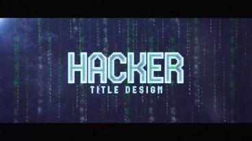 Hacker 애프터 이펙트 템플릿