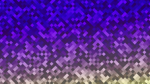 Mosaic rombs purple Animation