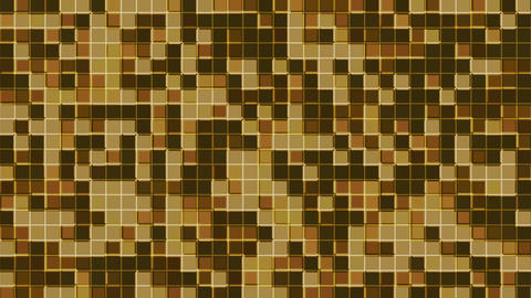 Mosaic brown Animation