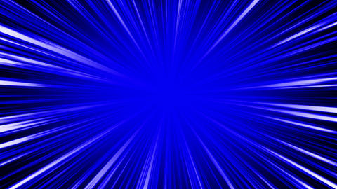 radial intensiveLine blue Animation