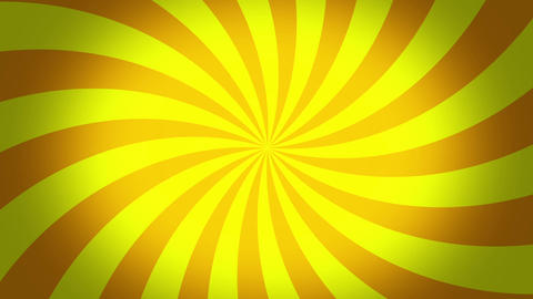 radial swirl yellow Animation