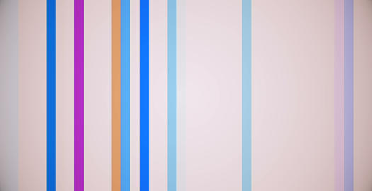 Vertical Colored Lines Shape Curtain Elegance Motion Background Animation