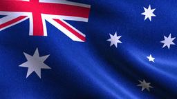 AUSTRALIA FLAG BACKGROUND Animation