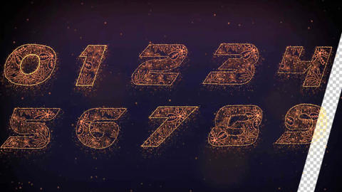 Christmas Countdown After Effects Template