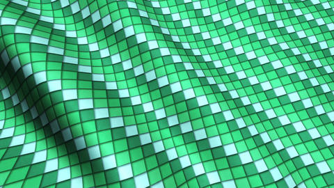 Animated 3D Cloth Colorful Squares Texture Materials 2