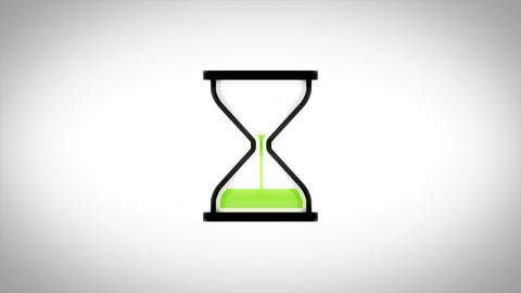Hourglass Timer Downloader Icon Loop Animation