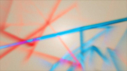Animated Lines Flying Moving Abstract Motion Colored Background Animation