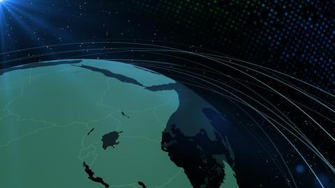 Earth CG 18 H3D 4k, CG動画素材