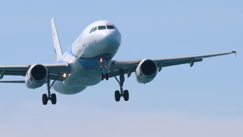 Airbus A320 approaching Live Action