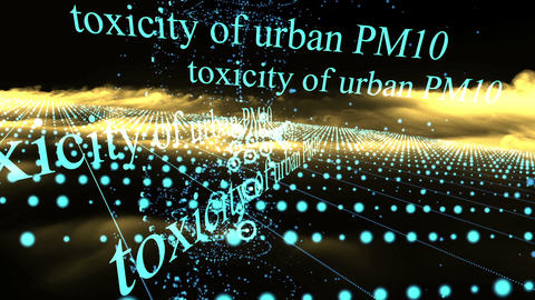 Air Pollution and Toxicity of Urban PM10,PM2.5 Animation