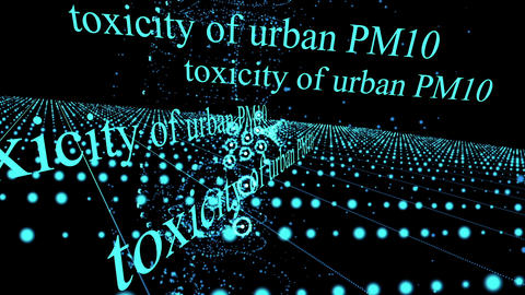 Air Pollution and Toxicity of Urban PM10,PM2.5 Videos animados
