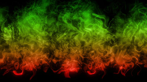 fire explosion green Animation