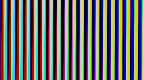 Stripe brack and white vertical Animation