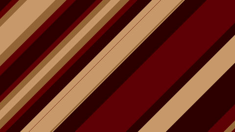 Stripe slanting brown Animation