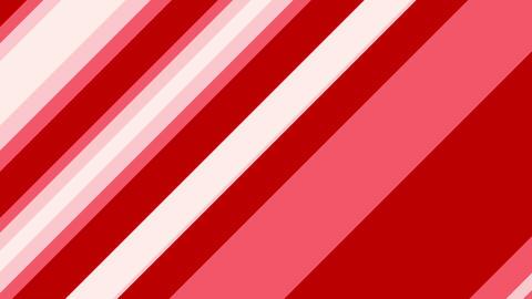 Stripe slanting red Animation