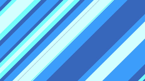 Stripe slanting blue Animation