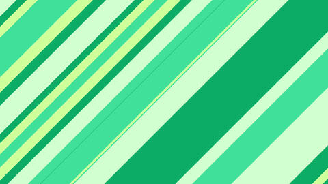 Stripe slanting green Animation