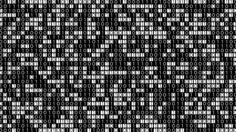 Binary Code Animation