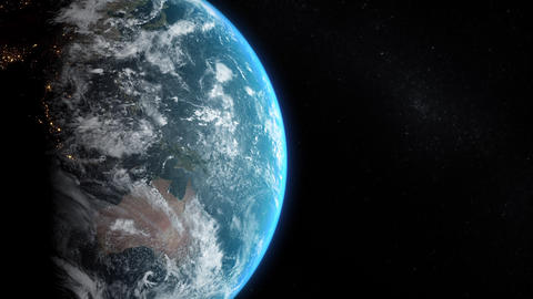 Earth View - Slow Move Animation