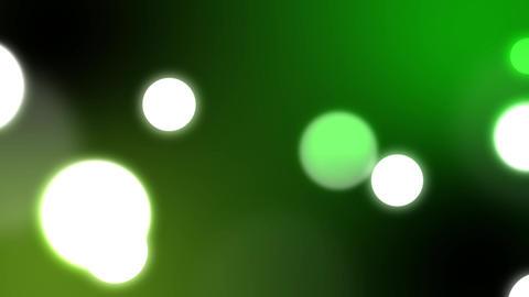 Bokeh Big green Animation
