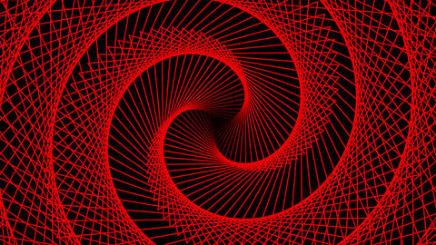Concentric Radio Wave red Animation