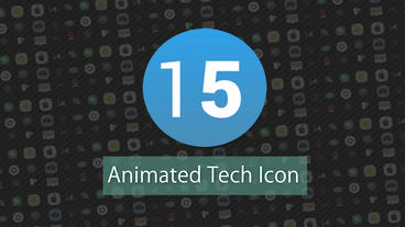 Technology Animated Icons Pack Motion Graphics Template