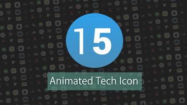 Technology Animated Icons Pack モーショングラフィックステンプレート