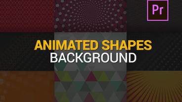 Shapes Animated Backgrounds V1 Motion Graphics Template