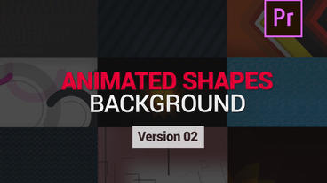 Shapes Animated Backgrounds V2 Motion Graphics Template