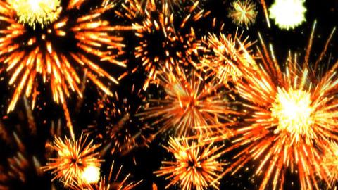 Fireworks 08 CG動画素材