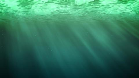 Water underWater green Animation