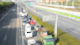 traffic background. Out of focus background Live影片