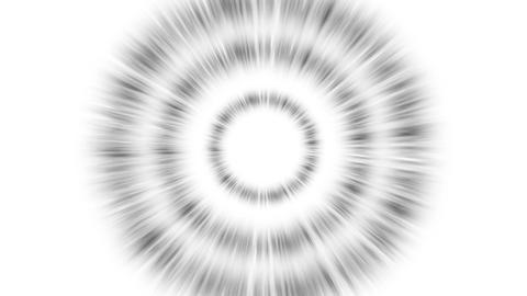 Shockwave triple black background white Animation
