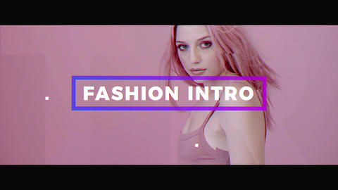 Fashion Intro Premiere Proテンプレート