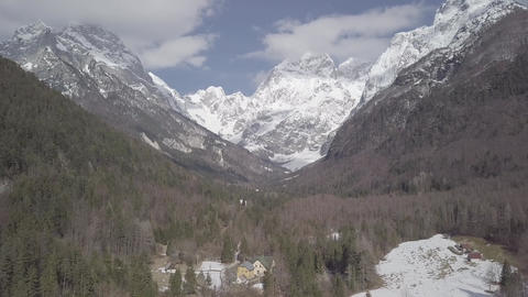 Alps mountain landscape Live Action