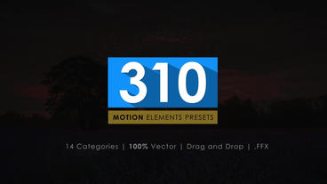 310 After Effect Presets Pack After Effects Animation Preset