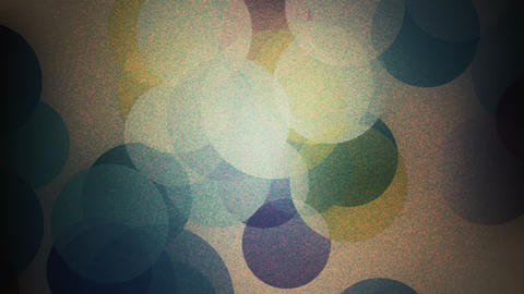 Slowly Colored Grainy Bokeh Particles Motion Background CG動画