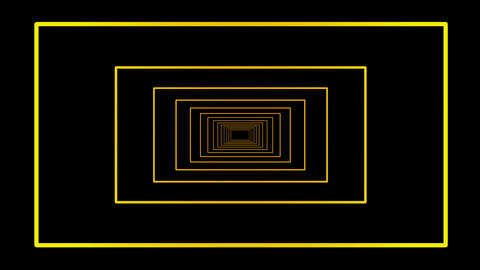 Yellow galactic motion laser lines effect on black motion... Stock Video Footage