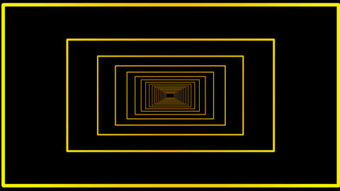 Yellow galactic motion laser lines effect on black motion background VJ Loop Footage